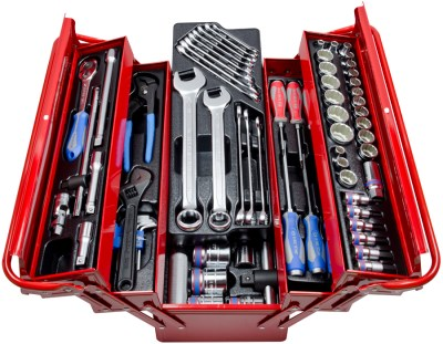 Tool Box Diesel Mechanic 1 2 Quot And 3 4 Quot 77pc King Tony